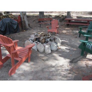 Firepit/picnic area.