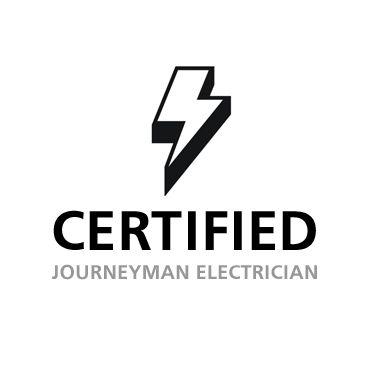 Certified Journeyman Electrician logo