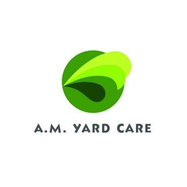 A.M. Yard Care logo