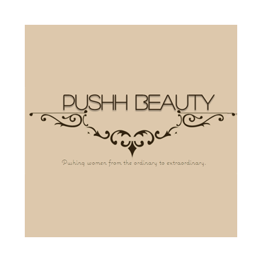 PUSHH BEAUTY - Certified Extentionist and Make up Artist PROFILE.logo