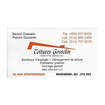 Toitures Gosselin PROFILE.logo