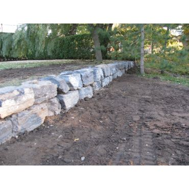 Mur de soutient