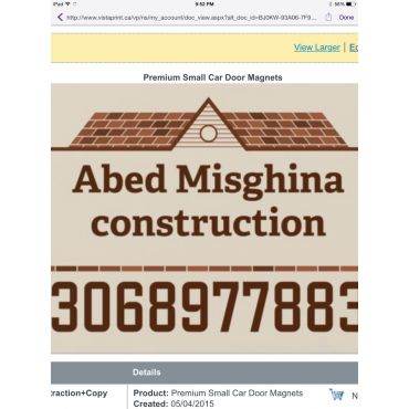 Abed Misghina Construction PROFILE.logo