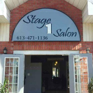Stage One Salon logo