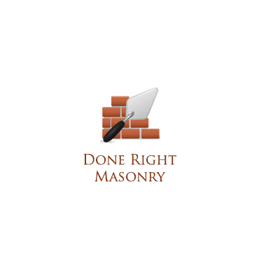 Done Right Masonry logo