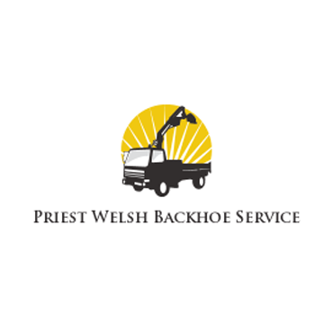 Priest Welsh Backhoe Service logo