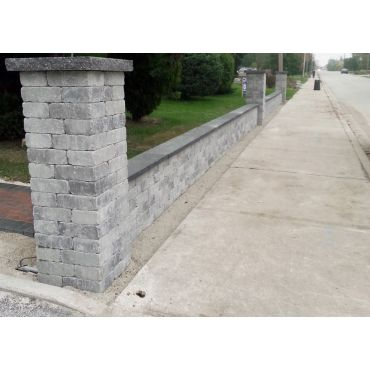 Interlocking - Retaining Wall