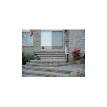 projet escalier pavée