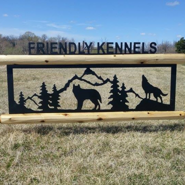 Friendly Boarding Kennels and Grooming PROFILE.logo