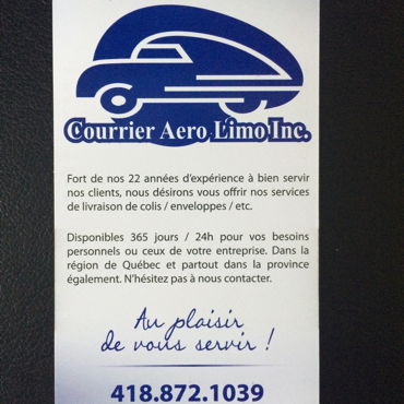 Courrier Aero Limo logo