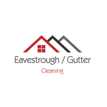 EAVES TROUGH/ GUTTER CLEANING logo