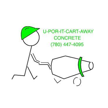U-POR-IT-CART-AWAY Concrete PROFILE.logo