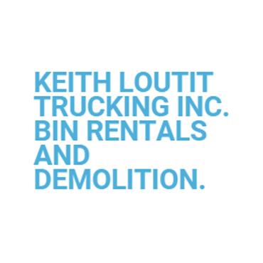 Keith Loutit Trucking Inc Bin Rentals & Demoltions logo