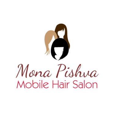 Mona Pishva Mobile Hair Salon logo