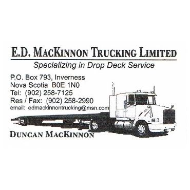 E D Mackinnon Trucking Limited PROFILE.logo