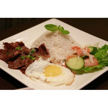 Grilled Beef Rice