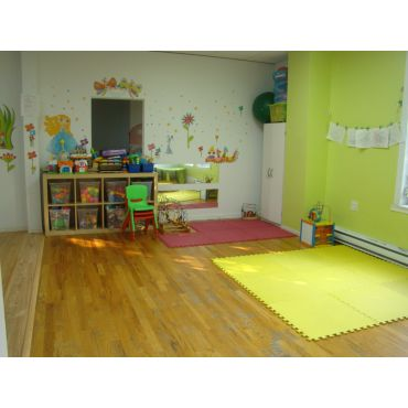 Infants play room.