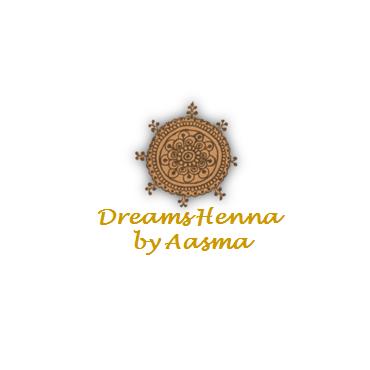 Dreams Henna by Aasma PROFILE.logo
