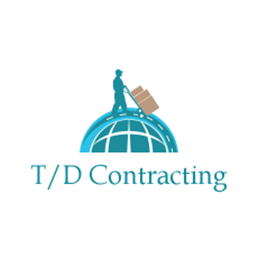 T/D Contracting logo