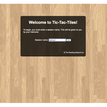 Welcome to Tic-Tac-Tiles.