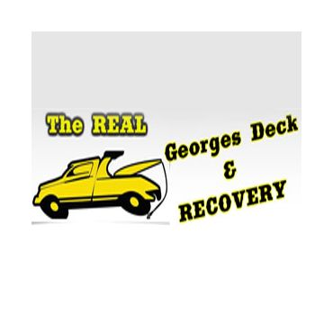 The Real George's Deck & Recovery Inc logo