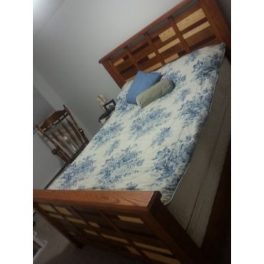 custom bedframe