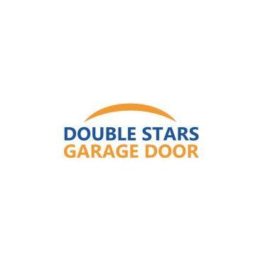 Double Stars Garage Door logo