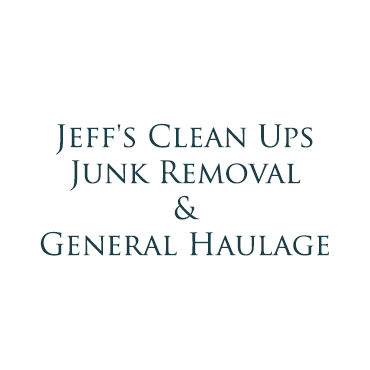 Jeff's Clean Ups, Junk Removal & General Haulage logo