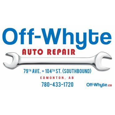 Off-Whyte Auto Repair logo