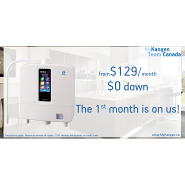 Choose the BEST Ionizer from $129/month!