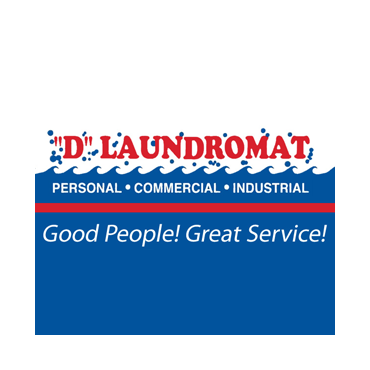 """""""D"""" Laundromat Services Home Pickup & Delivery logo"""