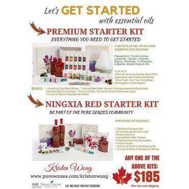 Choose your Premium Starter Kit