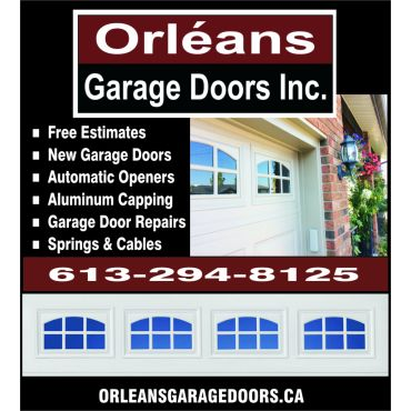 Orleans Garage Doors Inc. logo