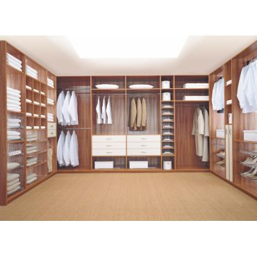 Walnut Closet