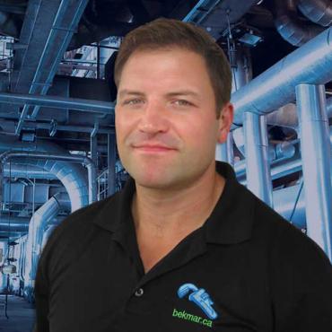 Jesse Martini, Owner, Bekmar Plumbing