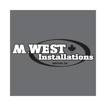 M. West Installations logo