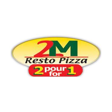 2M Resto Pizza logo