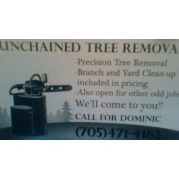 Unchained Tree Removal logo