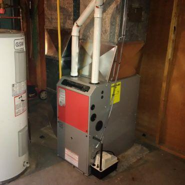 Burlington new furnace Napoleon