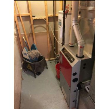 Burlington new furnace Napoleon 96% eff