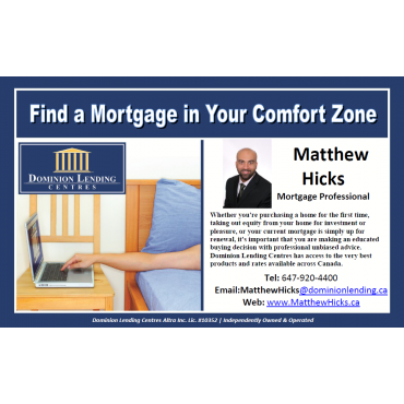 Find a mortgage in your comfort zone!