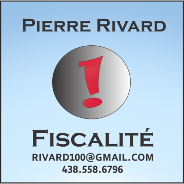 Pierre Rivard - Fiscalité logo