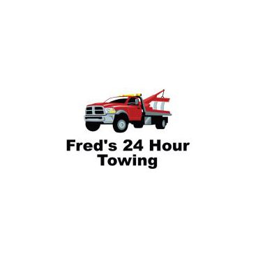 Fred's 24 Hour Towing logo