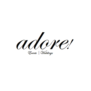Adore! Events and Weddings logo