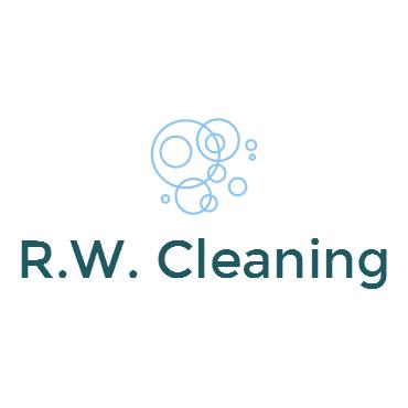 R.W. Cleaning logo