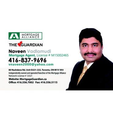 The Guardian Mortgage Alliance - Naveen Vadlamudi logo