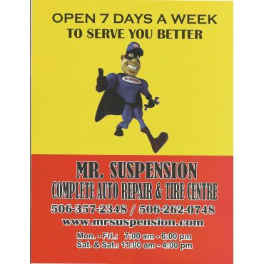 Mr Suspension logo