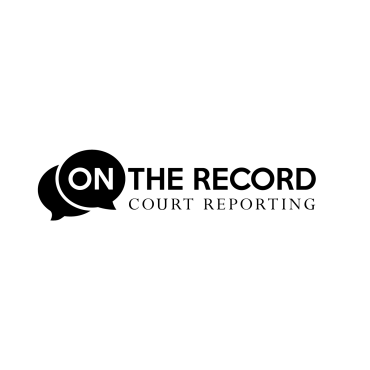 On The Record Court Reporting logo