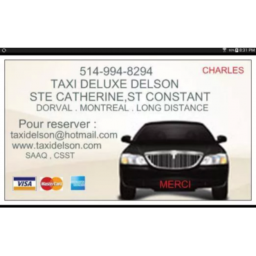 Taxi Delson Deluxe PROFILE.logo