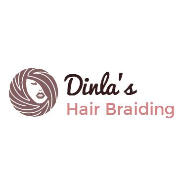 Dinla's Hair Braiding logo